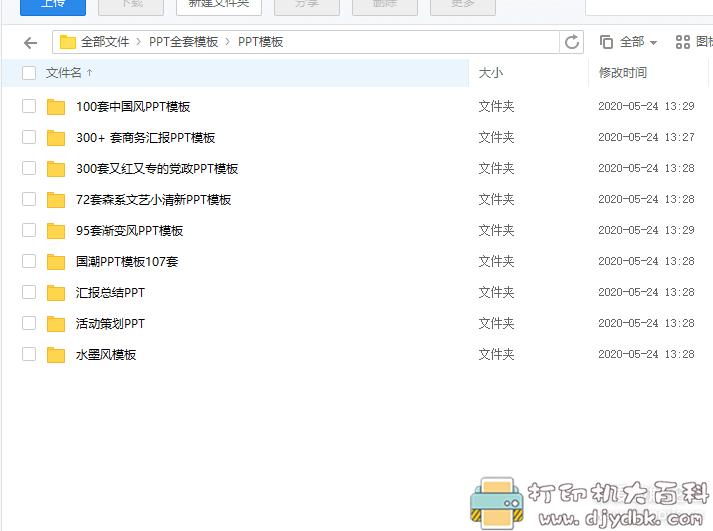 价值上百的PSD分层排版文字及常用插件记忆各类风格的PPT模板图片 No.6