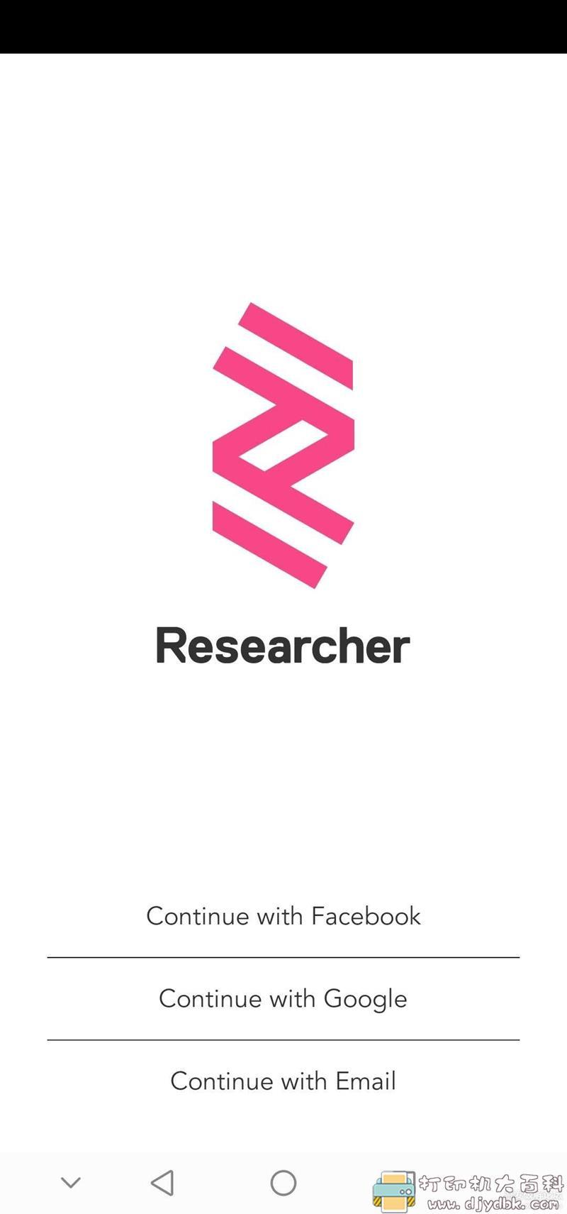 [Android]学术app【Researcher】:超过16000种学术期刊查询图片 No.1