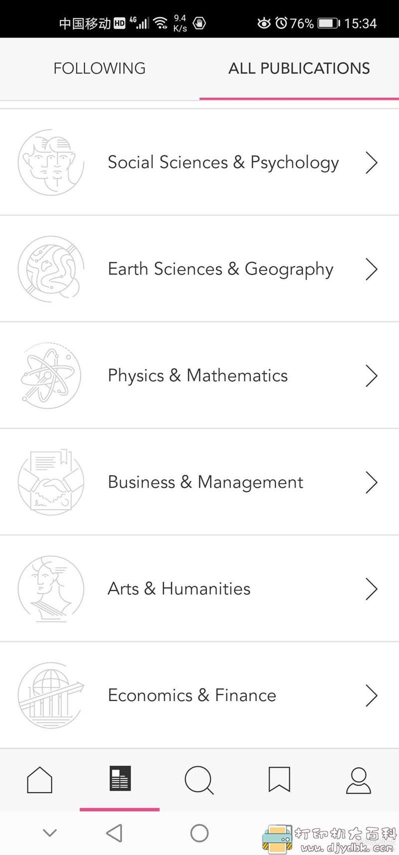 [Android]学术app【Researcher】:超过16000种学术期刊查询图片 No.8