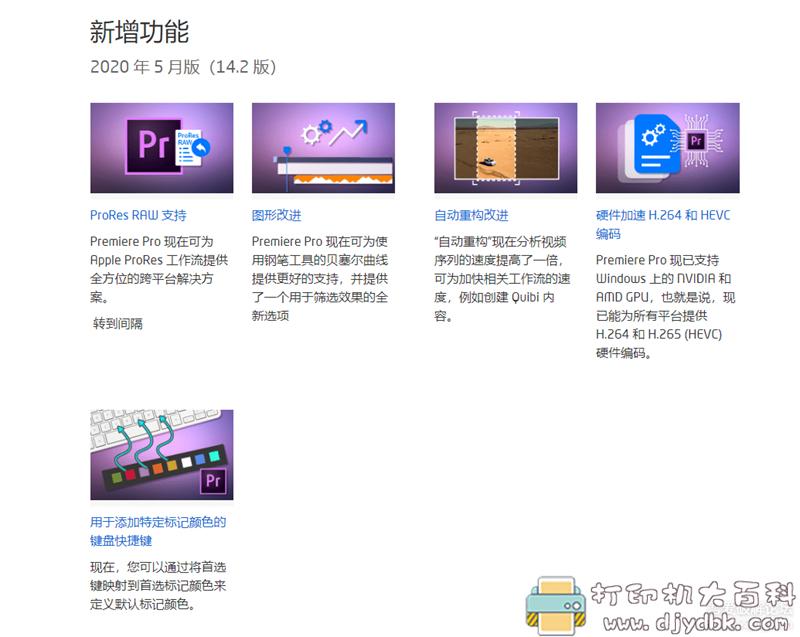[Windows]Adobe Premiere Pro 2020(14.2),更新显卡加速导出图片 No.1