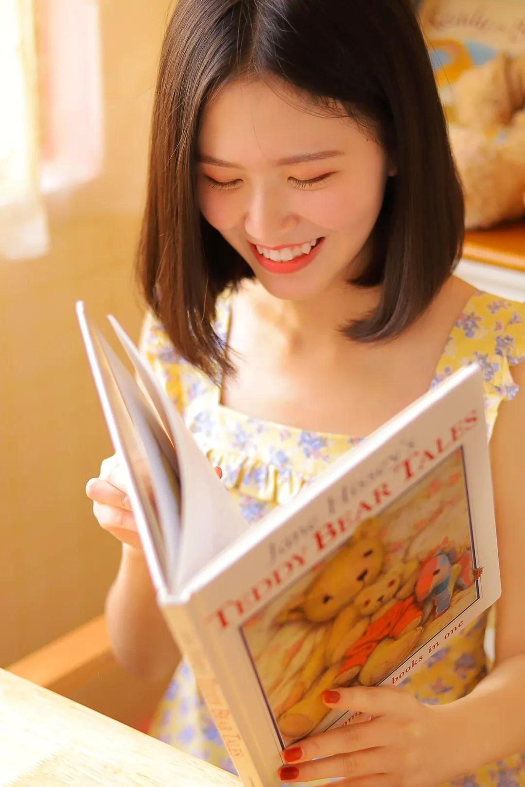 妹子摄影 – 笑起来真好看的连衣裙虎牙妹妹_图片 No.6