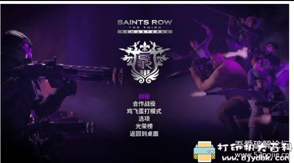 PC游戏分享:Saints Row 3图片 No.1