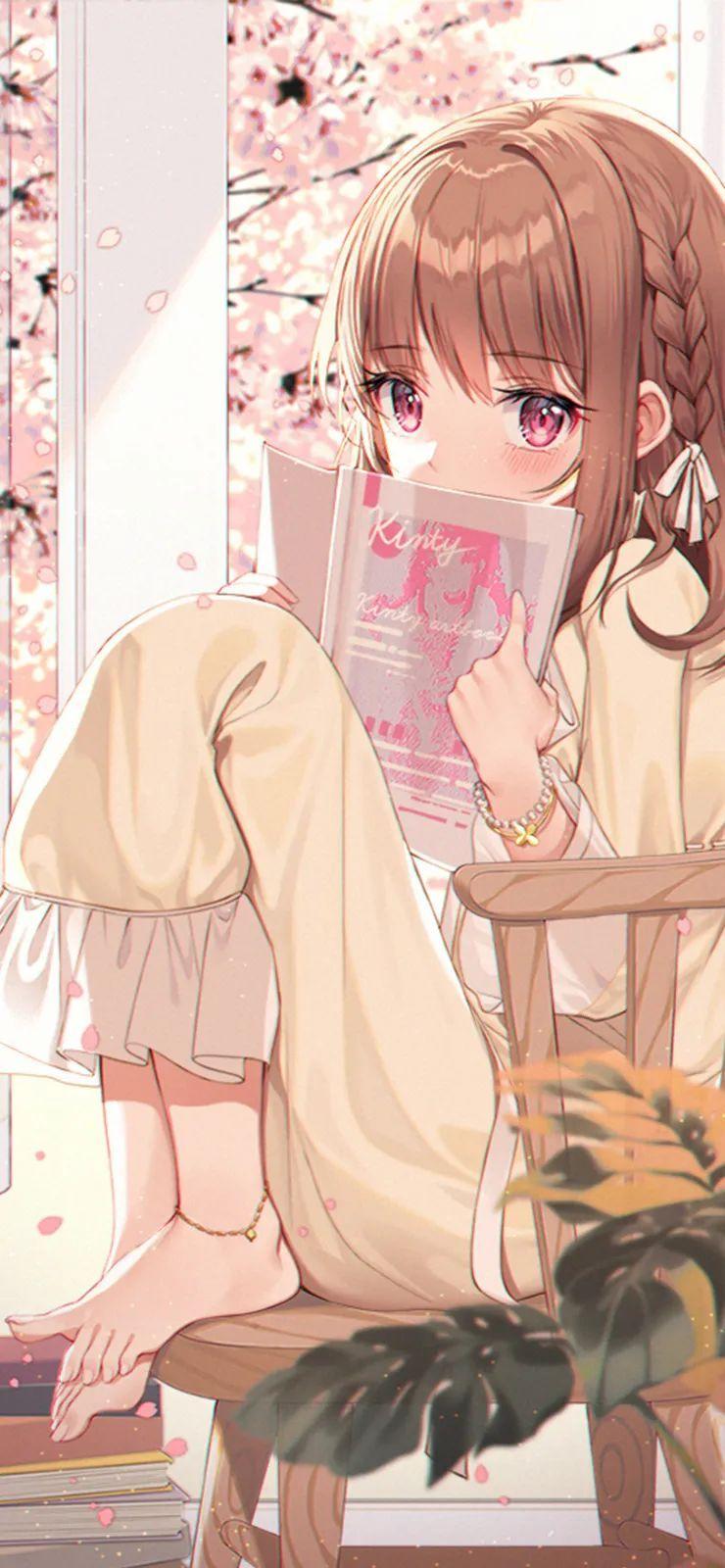 【二次元动漫壁纸集】优质动漫壁纸,金发双马尾JK短裙少女太好看了_图片 No.5