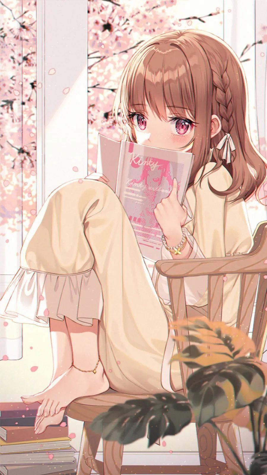 【二次元动漫壁纸集】优质动漫壁纸,金发双马尾JK短裙少女太好看了_图片 No.6