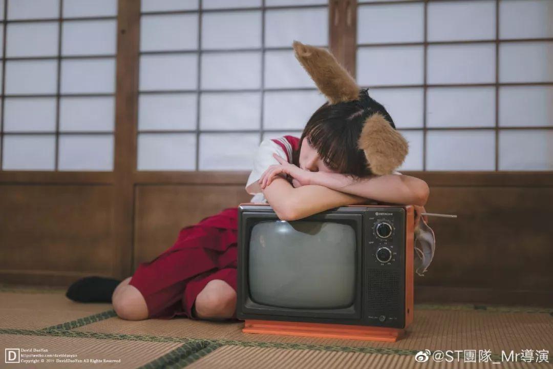 妹子摄影 – JK制服兽耳娘小姐姐+ 双马尾小姐姐_图片 No.5