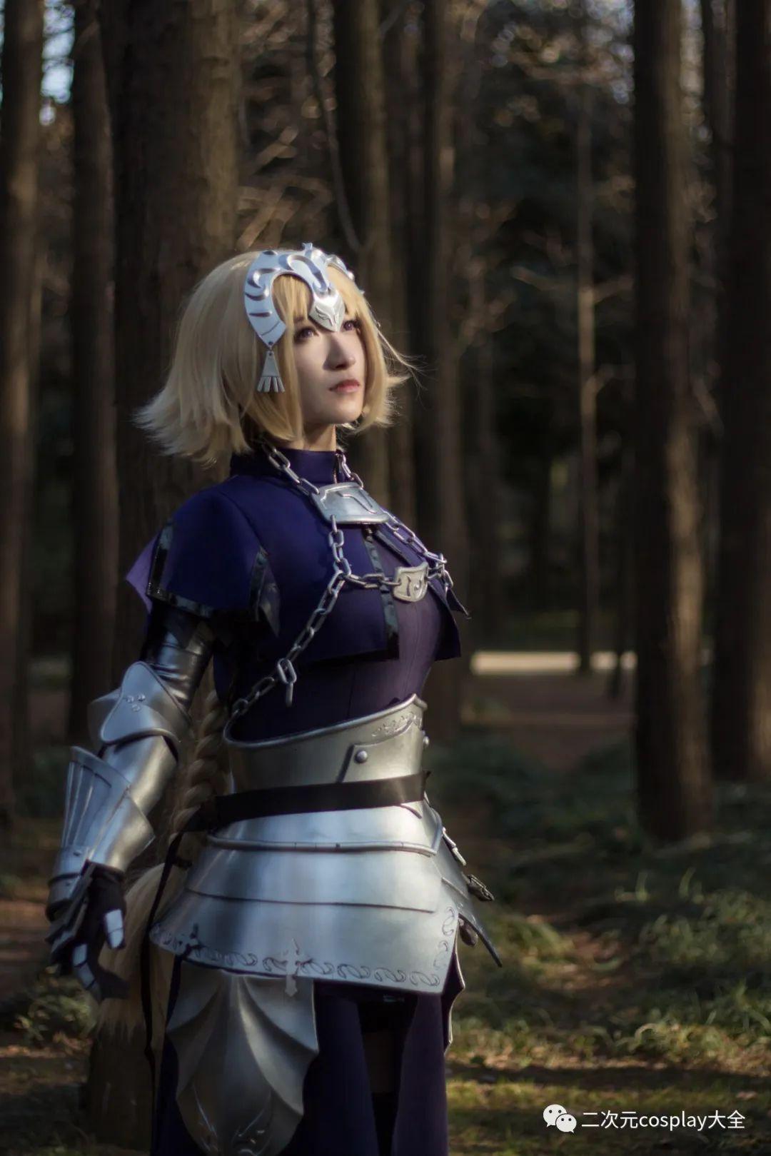 cosplay – FGO贞德,飒爽又有范,布景氛围更显帅气 - [leimu486.com] No.4