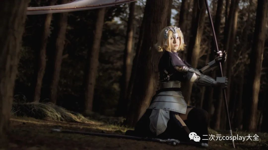 cosplay – FGO贞德,飒爽又有范,布景氛围更显帅气 - [leimu486.com] No.7