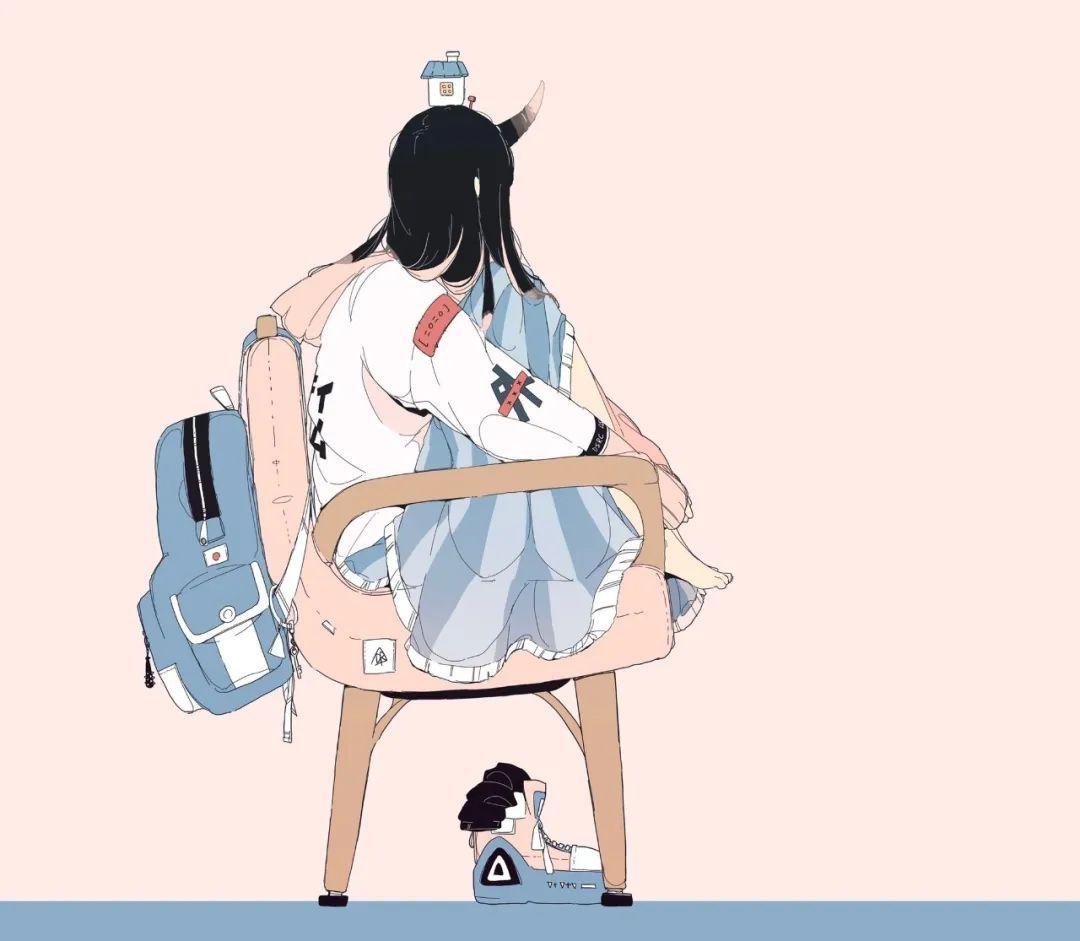 6月2日,日推二次元美图!网格黑丝女王坐在宝座上_图片 No.26
