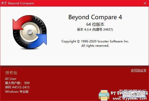 [Windows][亲测可用]BCompare文件比较对比工具4.3.4绿色版图片 No.2