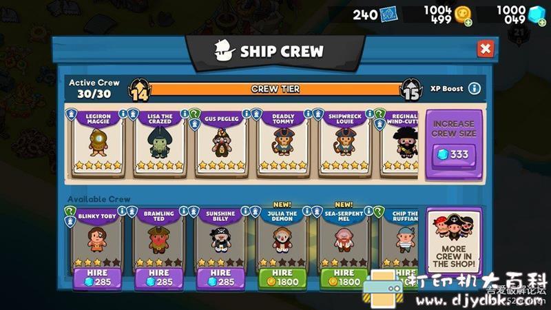 安卓休闲游戏:海盗进化Pirate Evolution! 0.9.0 内含750750钻石图片 No.6