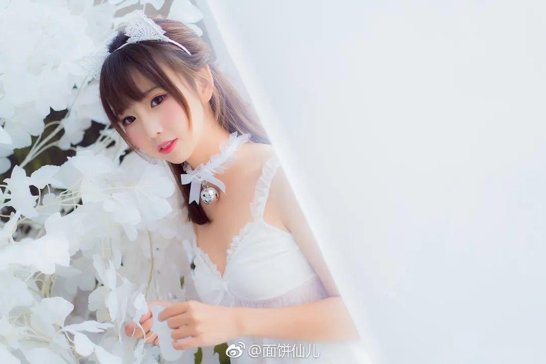 妹子摄影 – 超甜美白丝女孩婚纱写真_图片 No.2