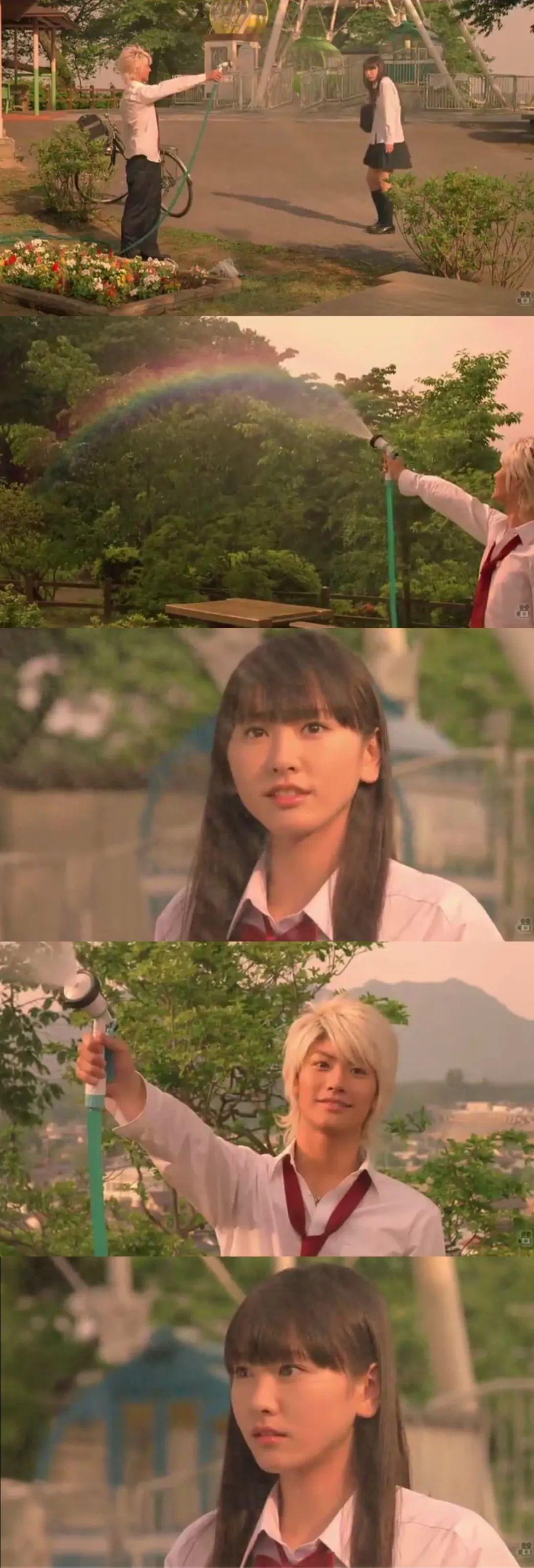 新垣结衣 恋空(2007年)剧情截图,青涩的新垣结衣_图片 No.1