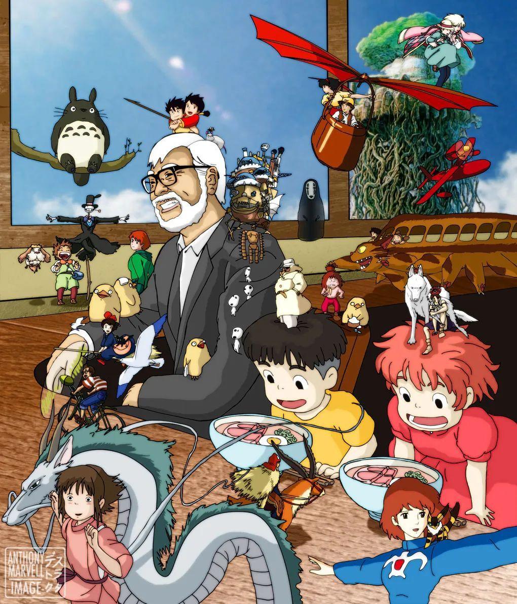 宫崎骏父子合力勇闯戛纳,谈谈这些年这对父子的爱恨情仇。_图片 No.6