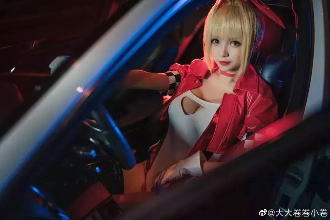Cosplay—《FateGrandOrder》尼禄,赛车女郎好身材爱了!_图片 No.1