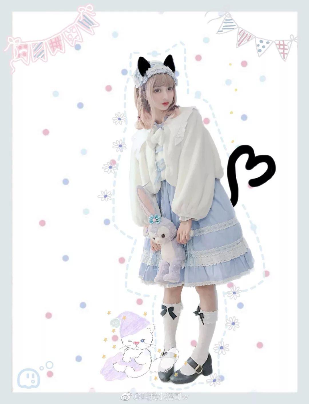 妹子摄影 – Lolita猫耳娘少女,精致的小公主_图片 No.1