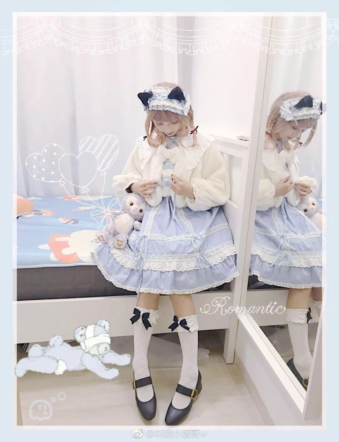 妹子摄影 – Lolita猫耳娘少女,精致的小公主_图片 No.3