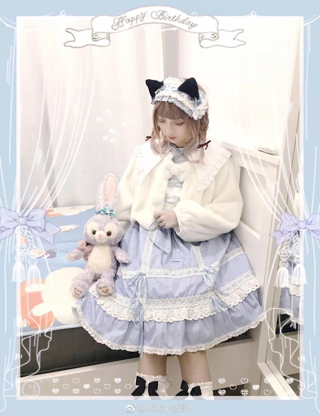 妹子摄影 – Lolita猫耳娘少女,精致的小公主_图片 No.4