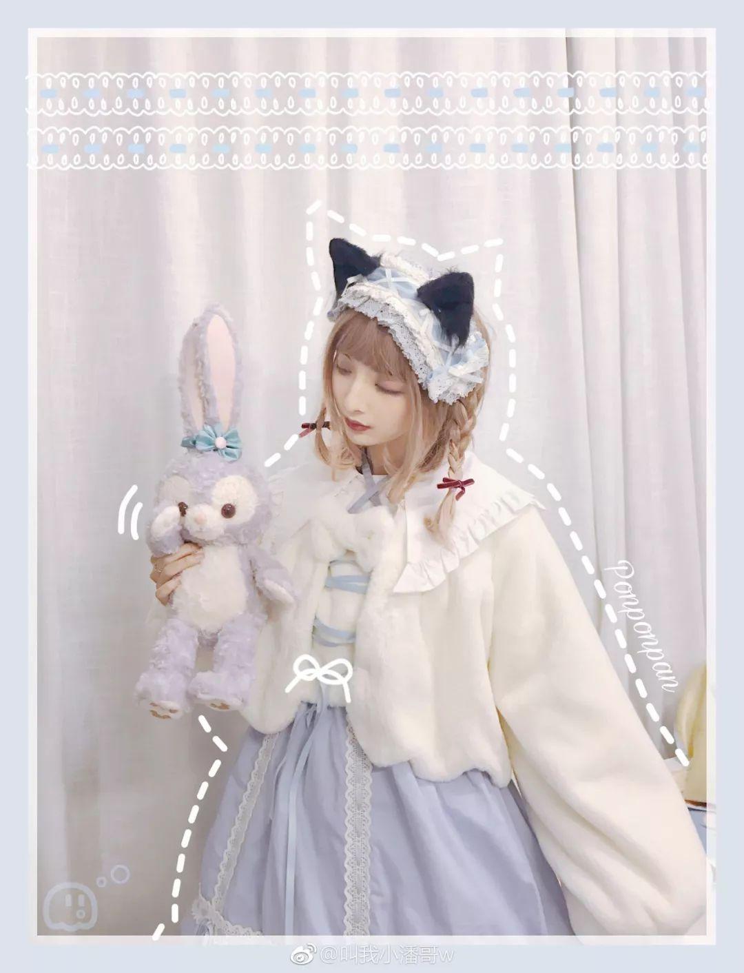 妹子摄影 – Lolita猫耳娘少女,精致的小公主_图片 No.6