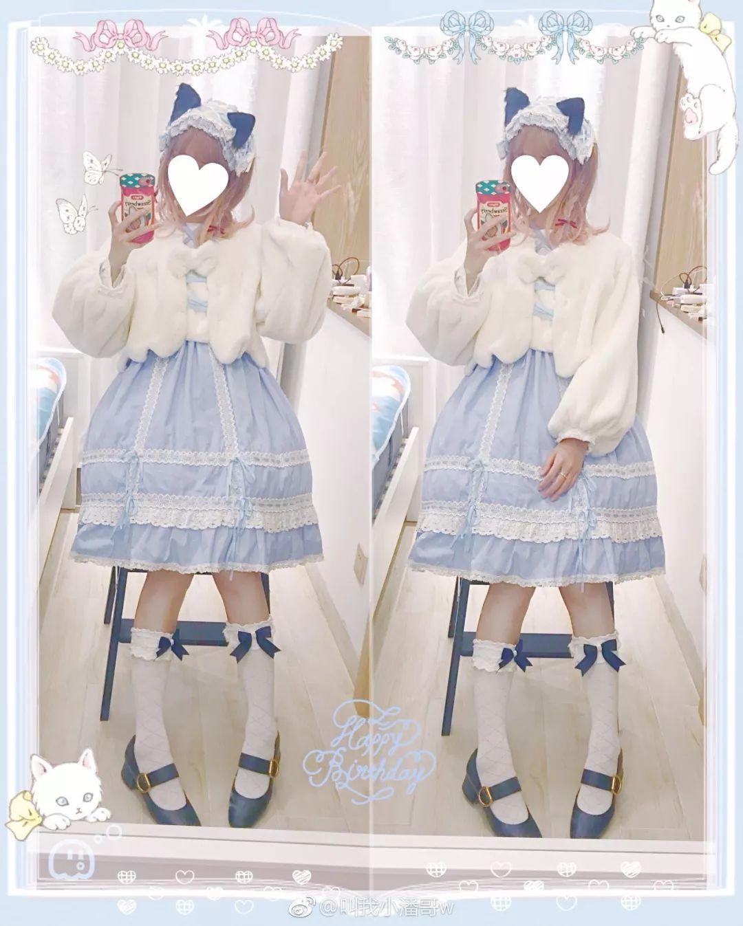 妹子摄影 – Lolita猫耳娘少女,精致的小公主_图片 No.9