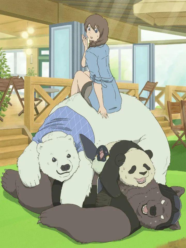 P站美图推荐——少女与熊猫 特辑_图片 No.11