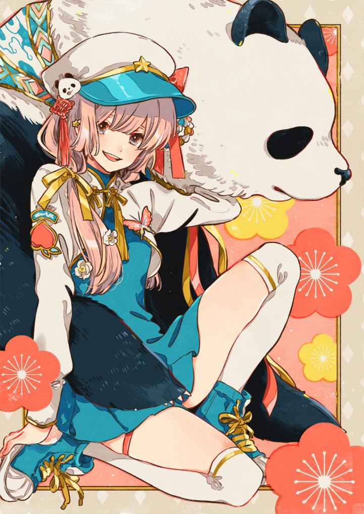 P站美图推荐——少女与熊猫 特辑_图片 No.19