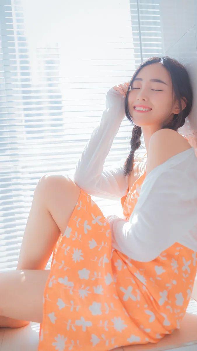 妹子摄影 – 居家少女睡裙与浴袍_图片 No.13