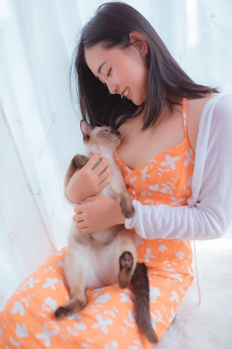 妹子摄影 – 居家少女睡裙与浴袍_图片 No.19