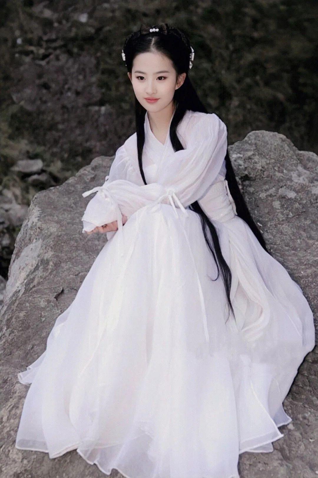刘亦菲小龙女美图,这就是神仙姐姐的美貌吗?_图片 No.6