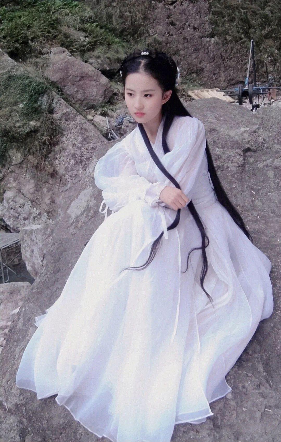 刘亦菲小龙女美图,这就是神仙姐姐的美貌吗?_图片 No.8