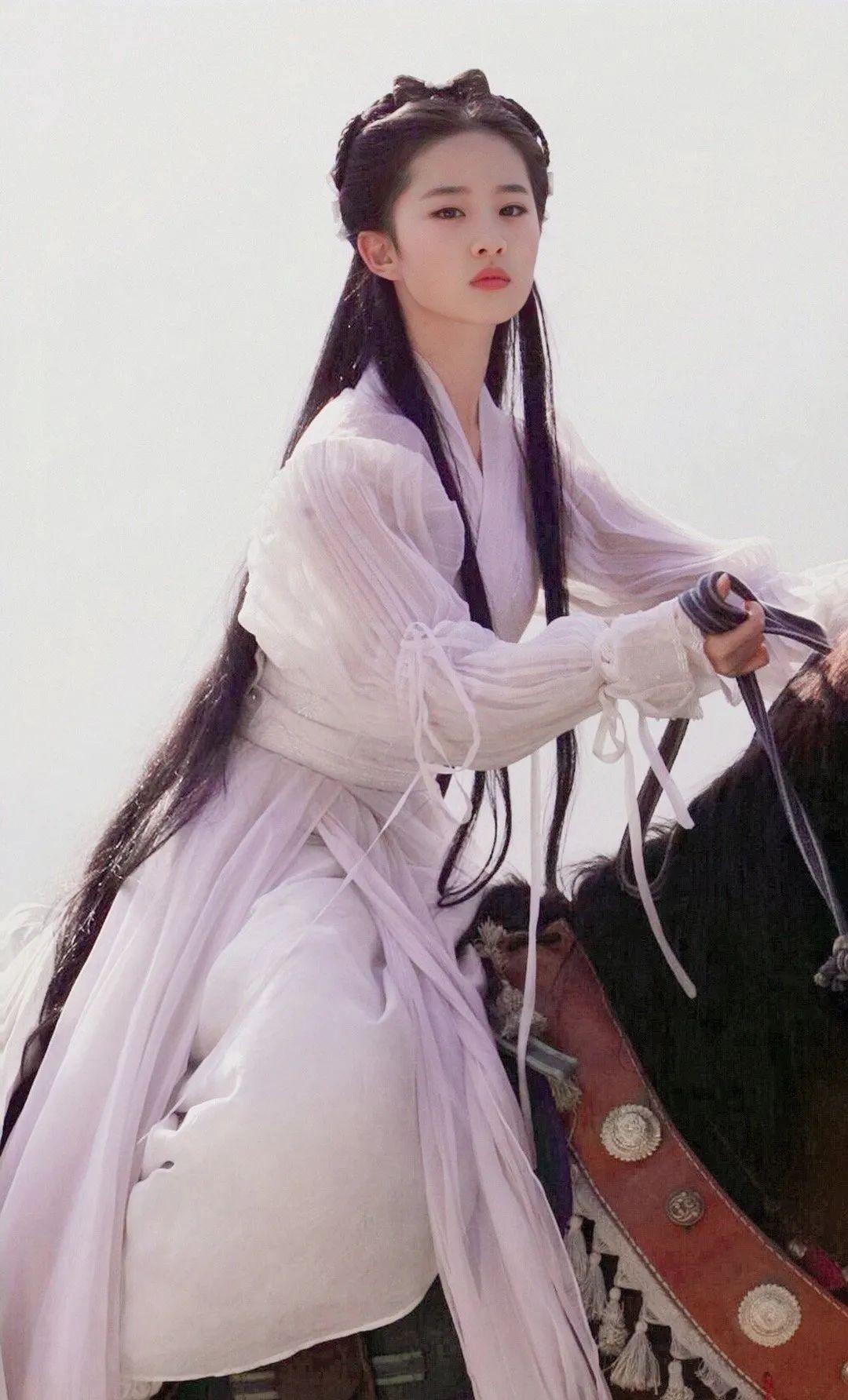 刘亦菲小龙女美图,这就是神仙姐姐的美貌吗?_图片 No.9
