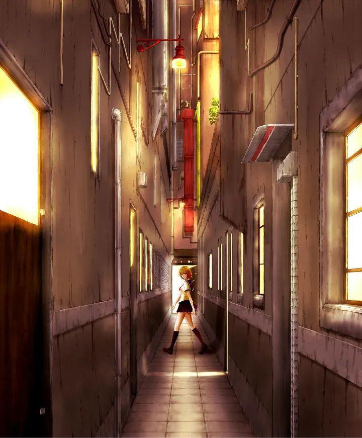 P站美图推荐——小巷里的美少女 特辑_图片 No.10