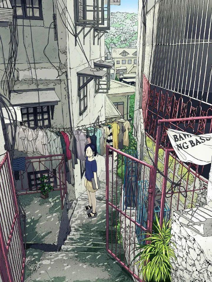 P站美图推荐——小巷里的美少女 特辑_图片 No.13