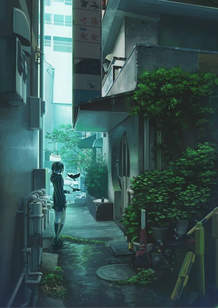 P站美图推荐——小巷里的美少女 特辑_图片 No.21