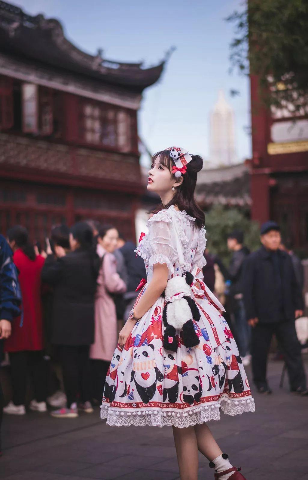 妹子摄影 – 鬼马精灵Lolita女孩@-谢安然-外出旅拍_图片 No.3