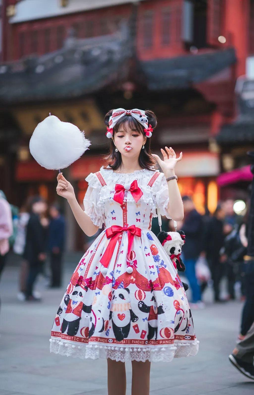 妹子摄影 – 鬼马精灵Lolita女孩@-谢安然-外出旅拍_图片 No.4