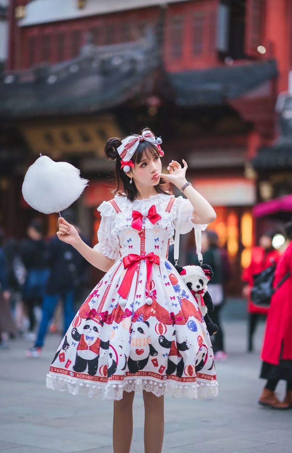 妹子摄影 – 鬼马精灵Lolita女孩@-谢安然-外出旅拍_图片 No.5