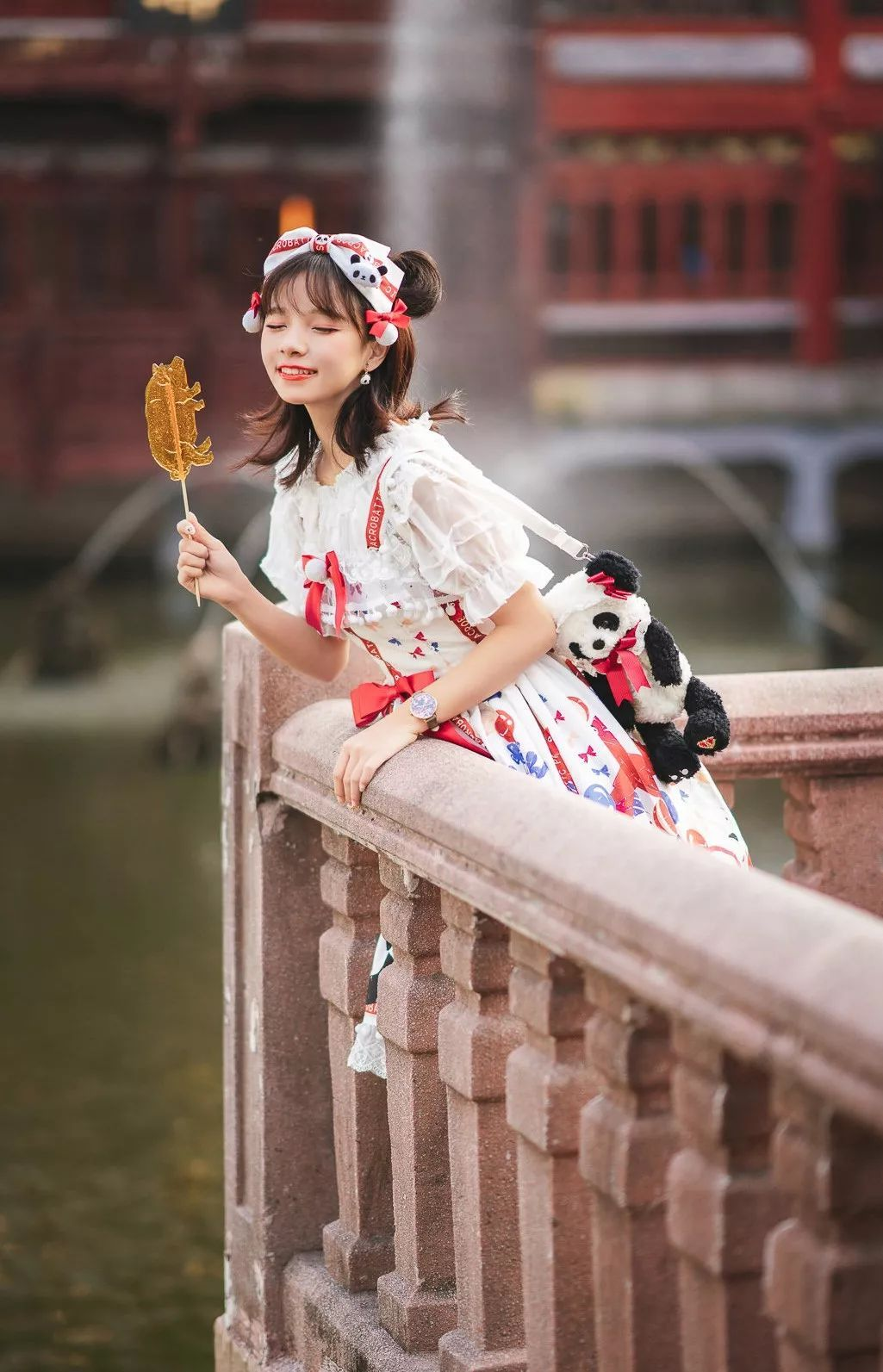 妹子摄影 – 鬼马精灵Lolita女孩@-谢安然-外出旅拍_图片 No.6