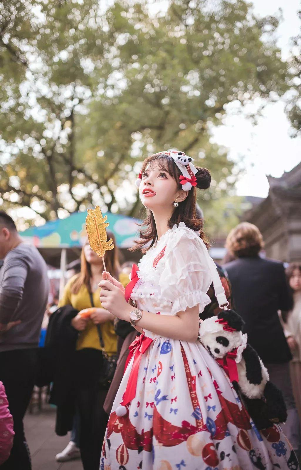 妹子摄影 – 鬼马精灵Lolita女孩@-谢安然-外出旅拍_图片 No.7