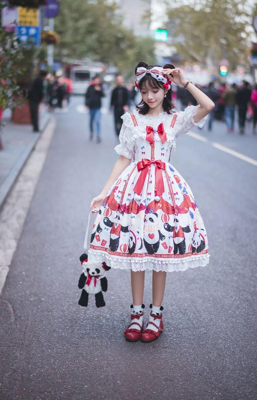 妹子摄影 – 鬼马精灵Lolita女孩@-谢安然-外出旅拍_图片 No.9