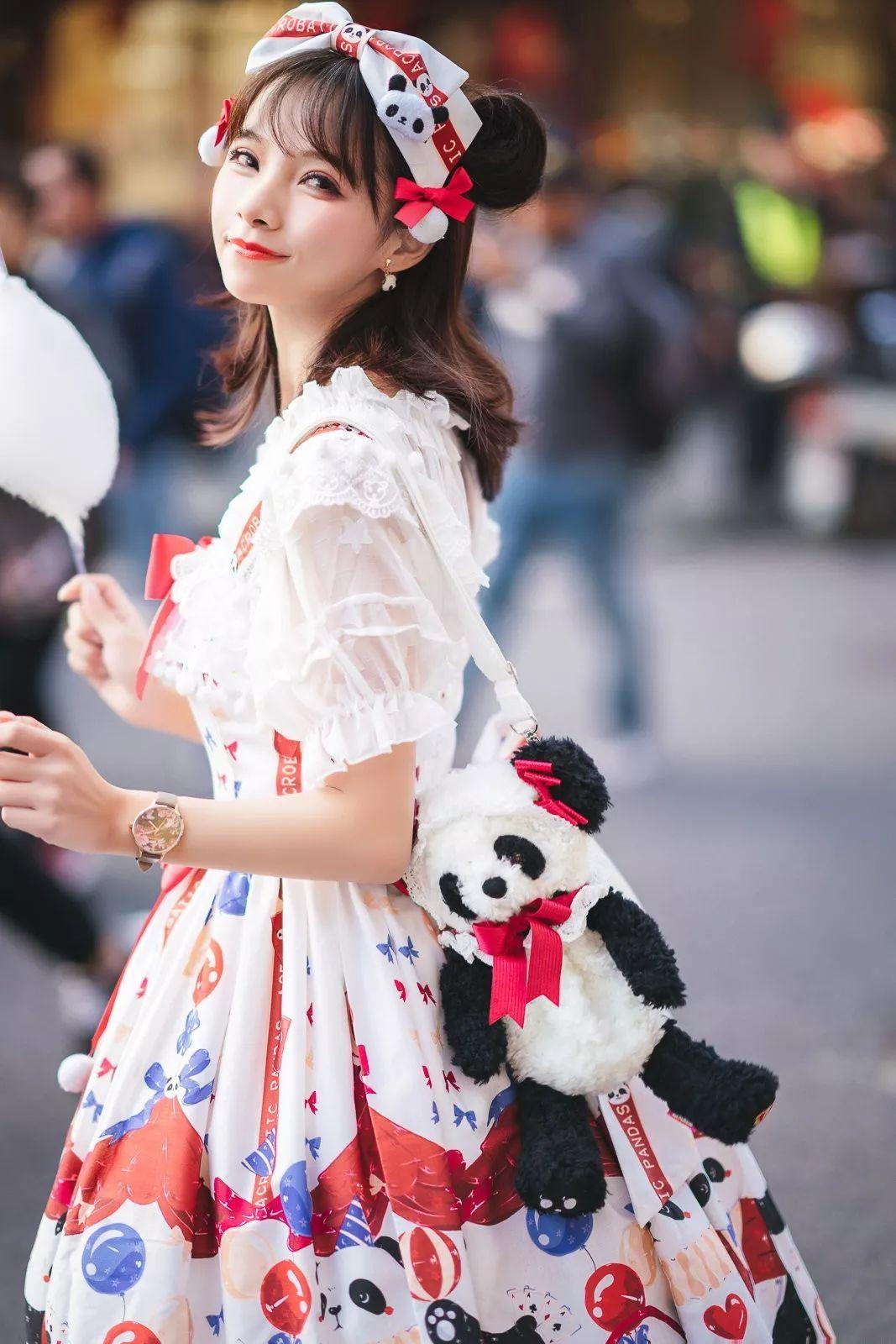 妹子摄影 – 鬼马精灵Lolita女孩@-谢安然-外出旅拍_图片 No.10