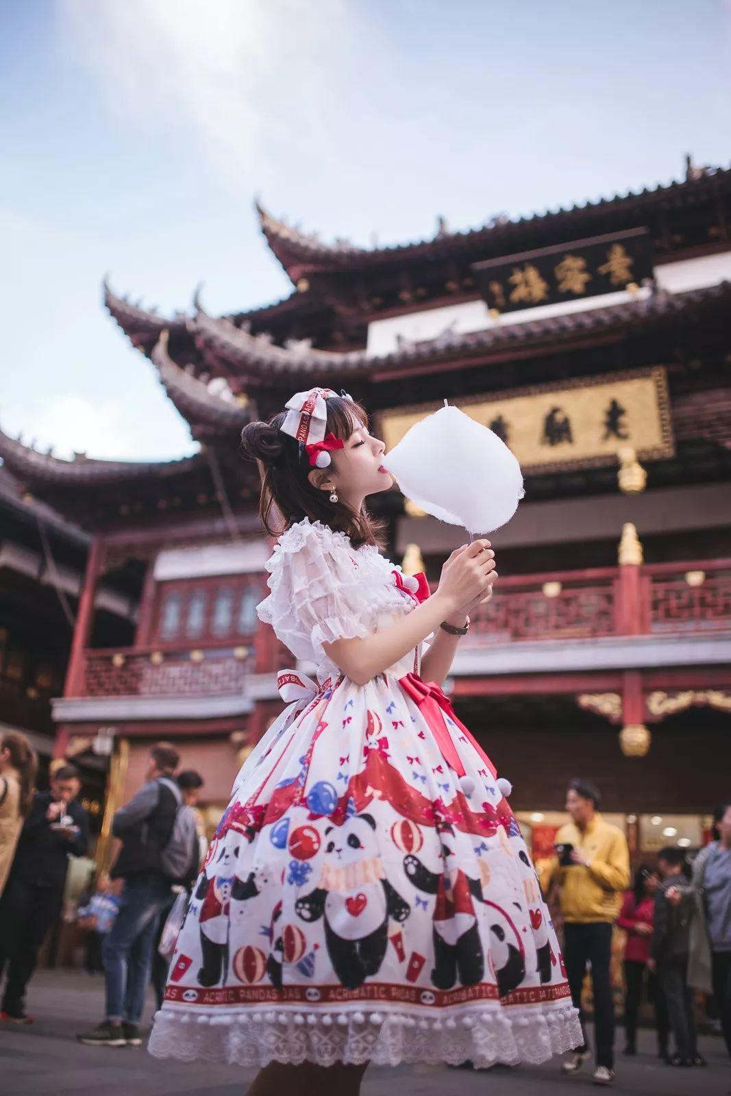 妹子摄影 – 鬼马精灵Lolita女孩@-谢安然-外出旅拍_图片 No.11