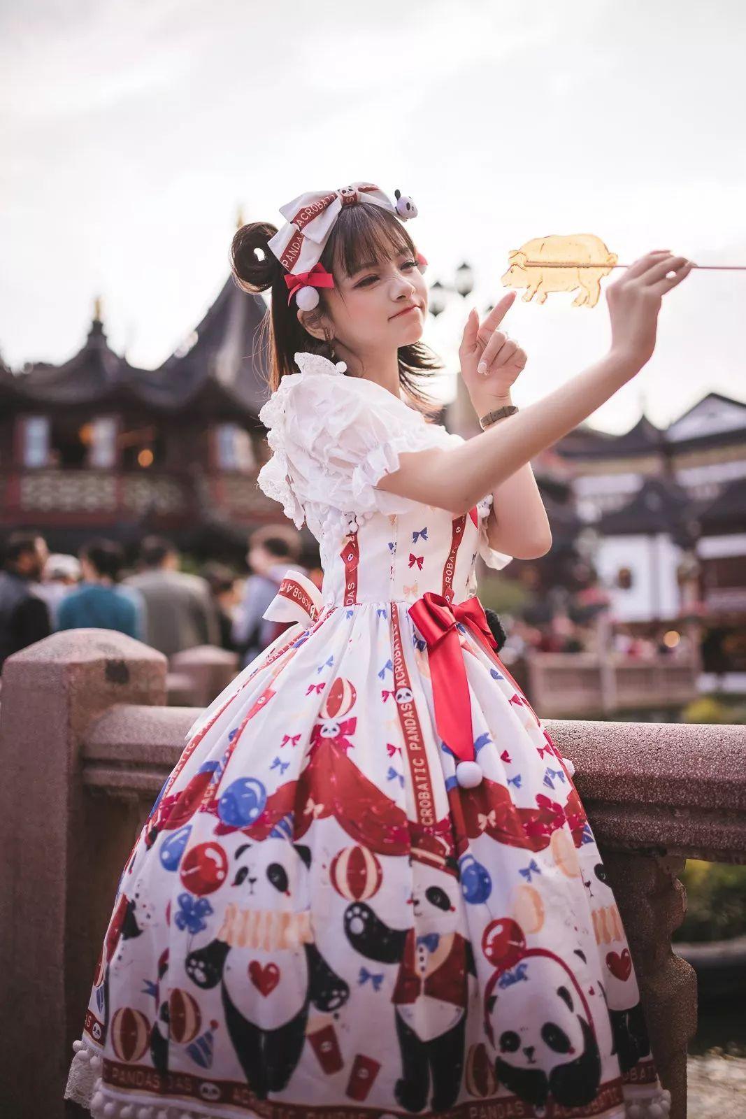 妹子摄影 – 鬼马精灵Lolita女孩@-谢安然-外出旅拍_图片 No.12