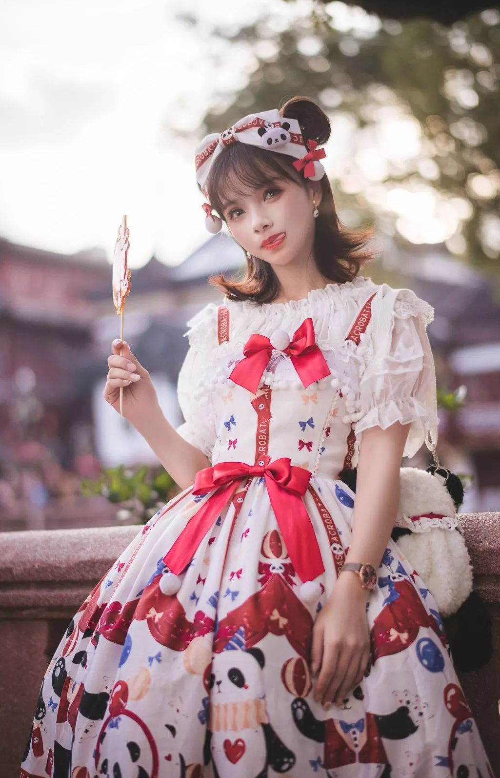 妹子摄影 – 鬼马精灵Lolita女孩@-谢安然-外出旅拍_图片 No.18