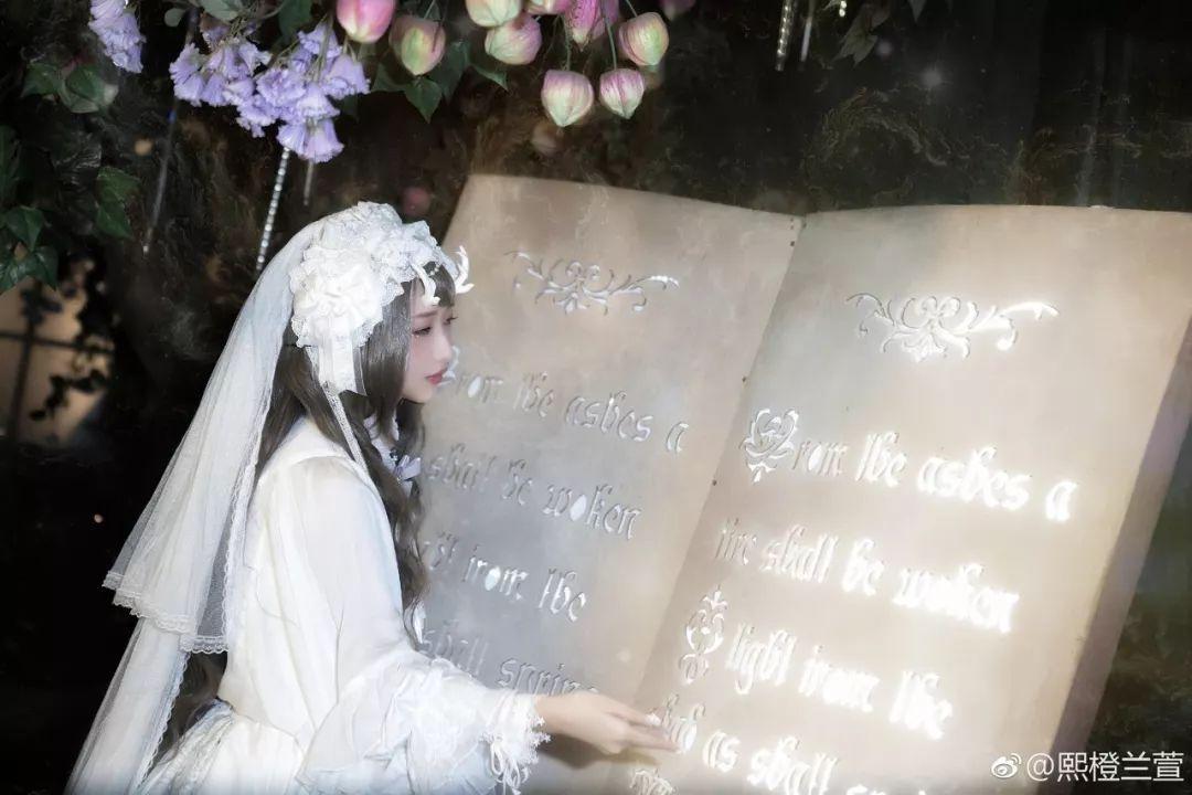 妹子摄影 – Lolita花嫁美少女@熙橙兰萱_图片 No.1