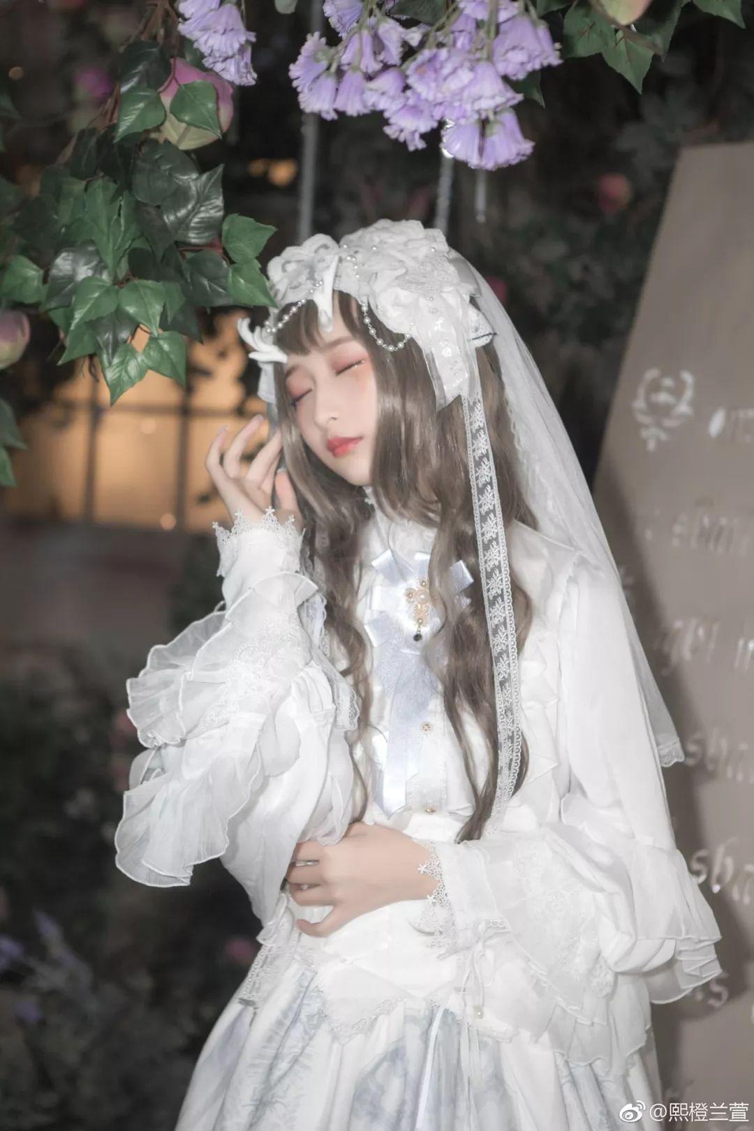 妹子摄影 – Lolita花嫁美少女@熙橙兰萱_图片 No.3