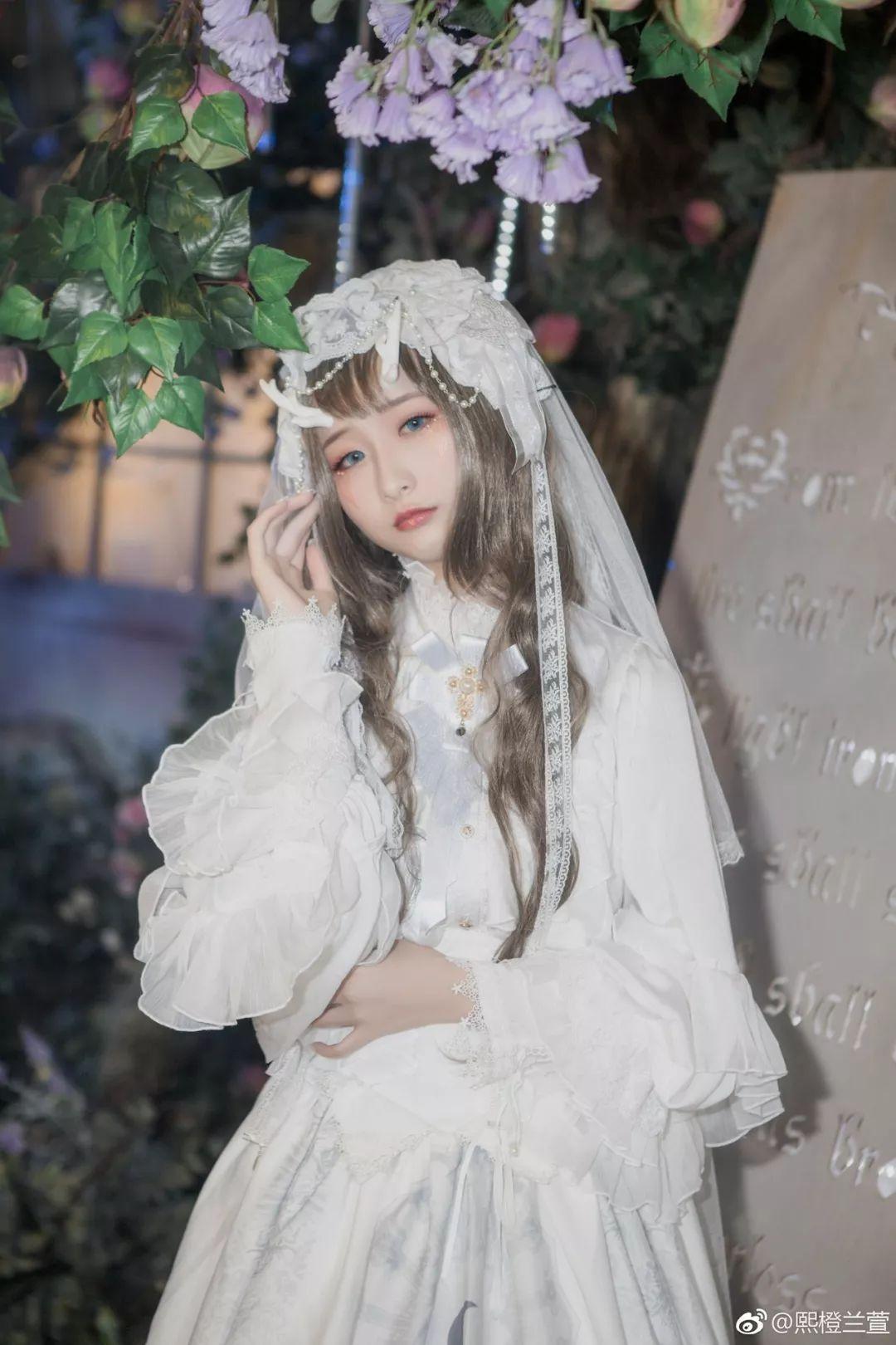 妹子摄影 – Lolita花嫁美少女@熙橙兰萱_图片 No.5