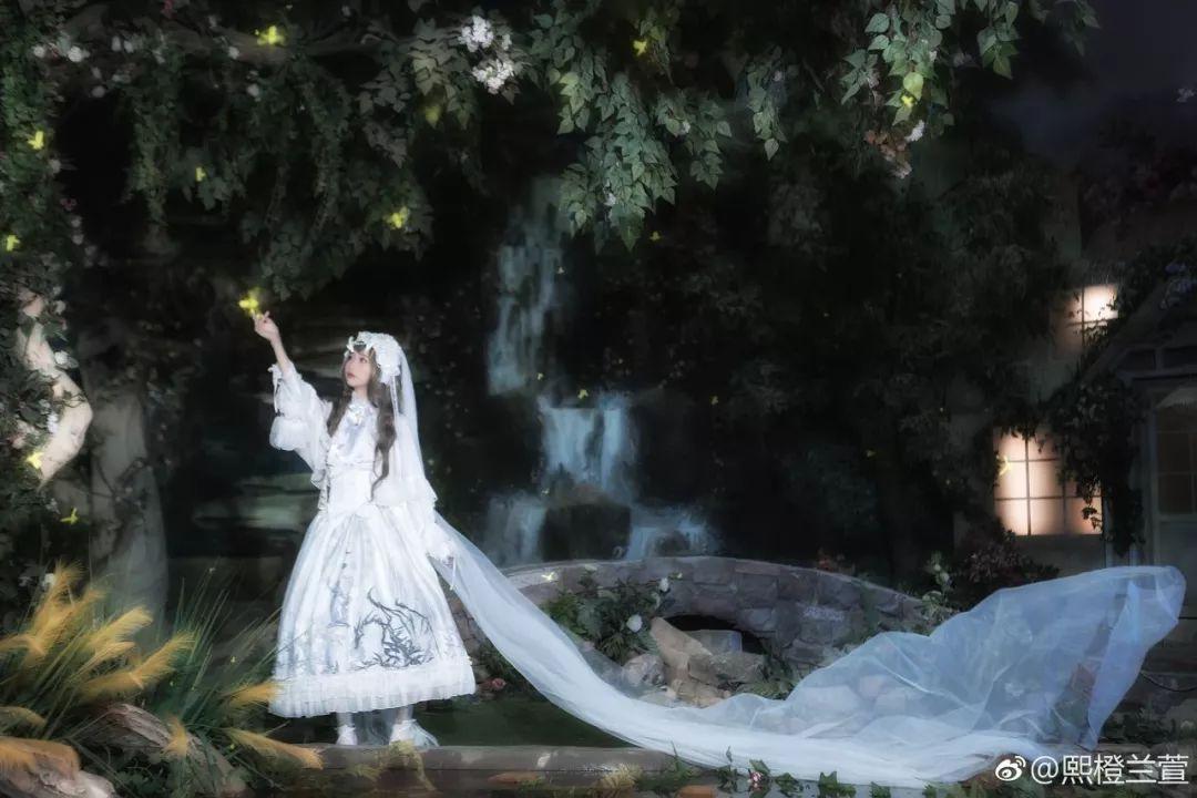 妹子摄影 – Lolita花嫁美少女@熙橙兰萱_图片 No.9