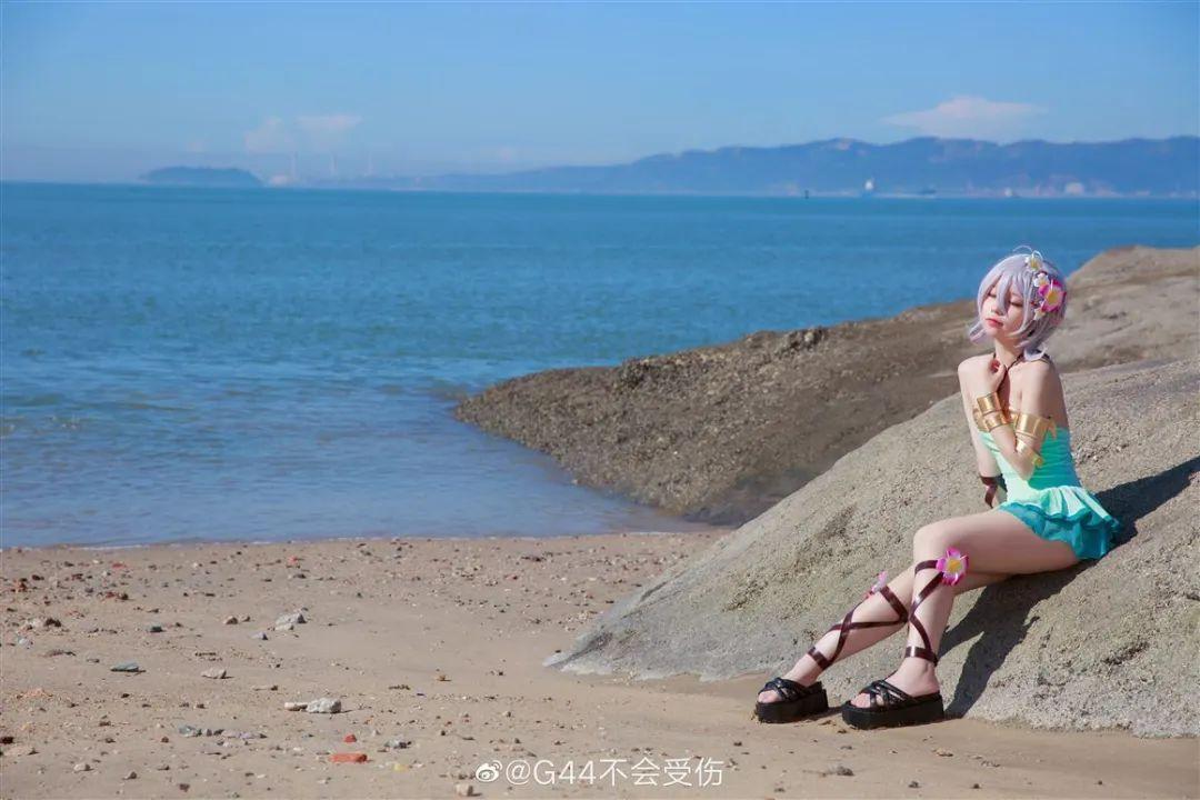 cosplay – 《公主连结》可可萝 泳装 ver. 超可爱的泳装可可萝,我真的可以!_图片 No.5