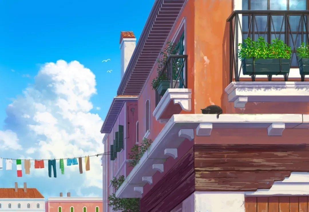 6月27日,日推P站二次元美图!超美的动漫风景与美少女_图片 No.13