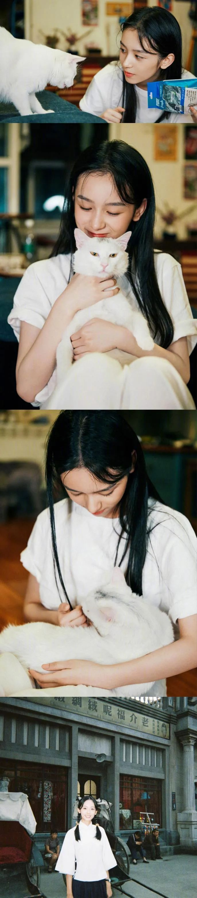 妹子写真 – 理想型的学姐学妹:周也、陈都灵小姐姐_图片 No.14